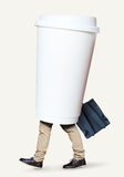 Disposable paper Cup Royalty Free Stock Image