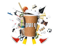 Disposable paper Cup Stock Images
