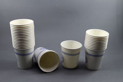 Disposable paper cup Stock Photos