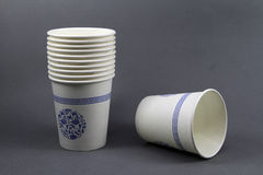 Disposable paper cup Royalty Free Stock Photos