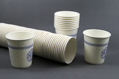 Disposable paper cup Royalty Free Stock Photo