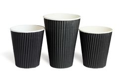 Disposable Paper Cups Stock Image