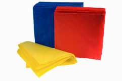 Disposable paper napkins Stock Photos