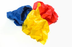 Disposable paper napkins Stock Photo