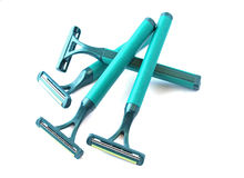Disposable razor Stock Images