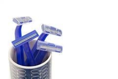 Disposable shaving razor isolated Stock Photo