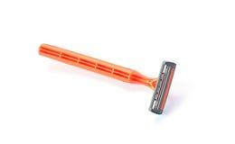 Disposable shaving razor isolated on white background Stock Image
