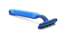 Disposable shaving razor isolated on white background Royalty Free Stock Image
