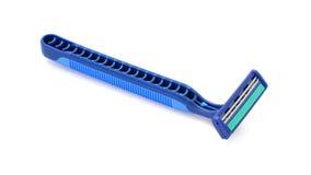 Disposable shaving razor isolated on white background Stock Photography