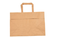 Disposable shopping bag Stock Photo