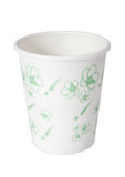 Disposable styrofoam cups Royalty Free Stock Image