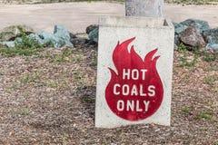 Disposal Bin for Hot Coals Royalty Free Stock Image