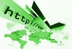Disposição 036 do HTTP Imagens de Stock Royalty Free