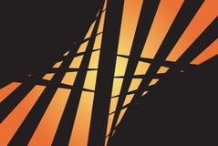 Disposição abstrata de Swirly ilustração stock