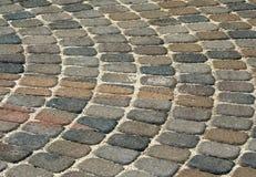 Disposição circular de tijolos Imagens de Stock