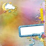 Disposição com dois frames da foto Imagens de Stock Royalty Free