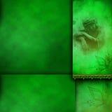 Disposição de página rápida elegante de Photoframe Imagem de Stock Royalty Free