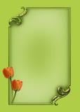 Disposição de página rápida elegante de Photoframe Fotografia de Stock Royalty Free