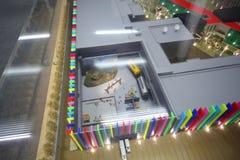 Disposição do complexo novo Glavkino do cinema Fotografia de Stock