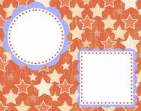 Disposição do convite ou do álbum de recortes Imagem de Stock Royalty Free