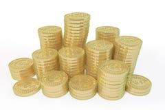 Disposição do ouro Fotografia de Stock Royalty Free