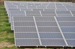 Disposição do painel solar Imagem de Stock