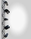 Disposição do projector Fotografia de Stock