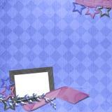 Disposição do Scrapbook Imagem de Stock Royalty Free