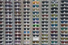 Disposição dos óculos de sol Imagens de Stock Royalty Free