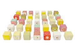 Disposição dos quadrados do fruto Imagens de Stock Royalty Free