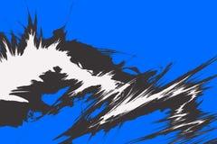 Disposición cobarde de la explosión libre illustration