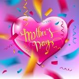 Disposición de diseño del día del ` s de la madre Imágenes de archivo libres de regalías