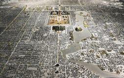 Disposición de la ciudad de Pekín Foto de archivo