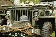 Disposición de la demostración de los vehículos de la guerra mundial 2 Imagen de archivo libre de regalías