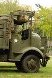 Disposición de la demostración de los vehículos de la guerra mundial 2 Fotos de archivo
