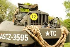 Disposición de la demostración de los vehículos de la guerra mundial 2 Fotografía de archivo libre de regalías