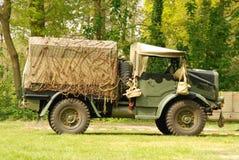 Disposición de la demostración de los vehículos de la guerra mundial 2 Imagen de archivo
