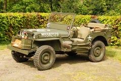 Disposición de la demostración de los vehículos de la guerra mundial 2 Foto de archivo libre de regalías