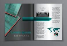 Disposición de la revista Vector ilustración del vector