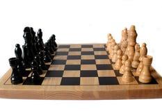 Disposición de la tarjeta de ajedrez Foto de archivo libre de regalías
