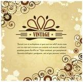 Disposición de la vendimia Imagen de archivo libre de regalías