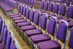 Disposición de los asientos Fotografía de archivo libre de regalías