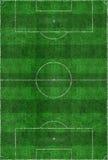 Disposición del campo de fútbol Imagen de archivo libre de regalías
