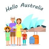 Disposición del cartel del color del vector de la agencia de viajes con el texto libre illustration