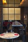 Disposición del restaurante fotos de archivo