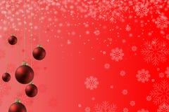 Disposición del rojo de la Navidad Imagenes de archivo