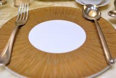 Disposición del vector del restaurante Foto de archivo libre de regalías