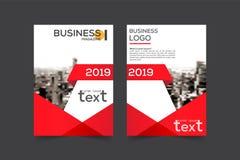 Disposición, folleto, plantilla, flayer, revista, diseño de la cubierta para a Imágenes de archivo libres de regalías