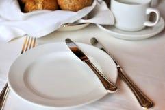 Disposición genérica en restaurante Fotografía de archivo