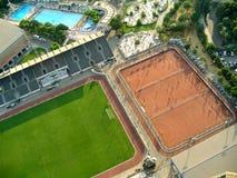Disposición los deportiva de instalaciones Fotos de archivo libres de regalías